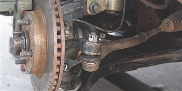 How to check your suspension ball joints.