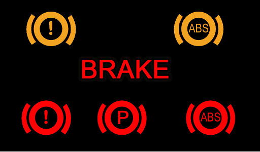 What different warning light indicators mean.